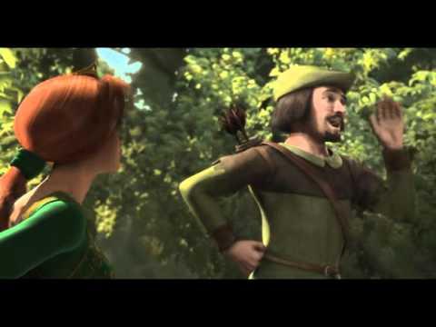 Shrek - Robin Hood