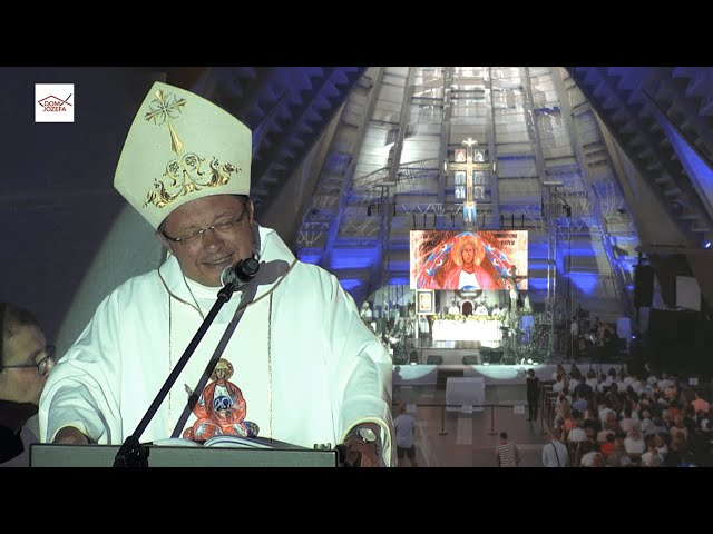 Homilia Arcybiskupa Grzegorza Rysia - 9. Abba Pater Festiwal w Kaliszu