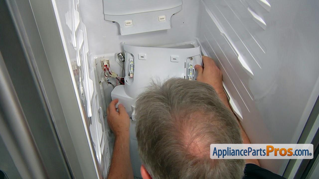evaporator cover samsung refrigerator