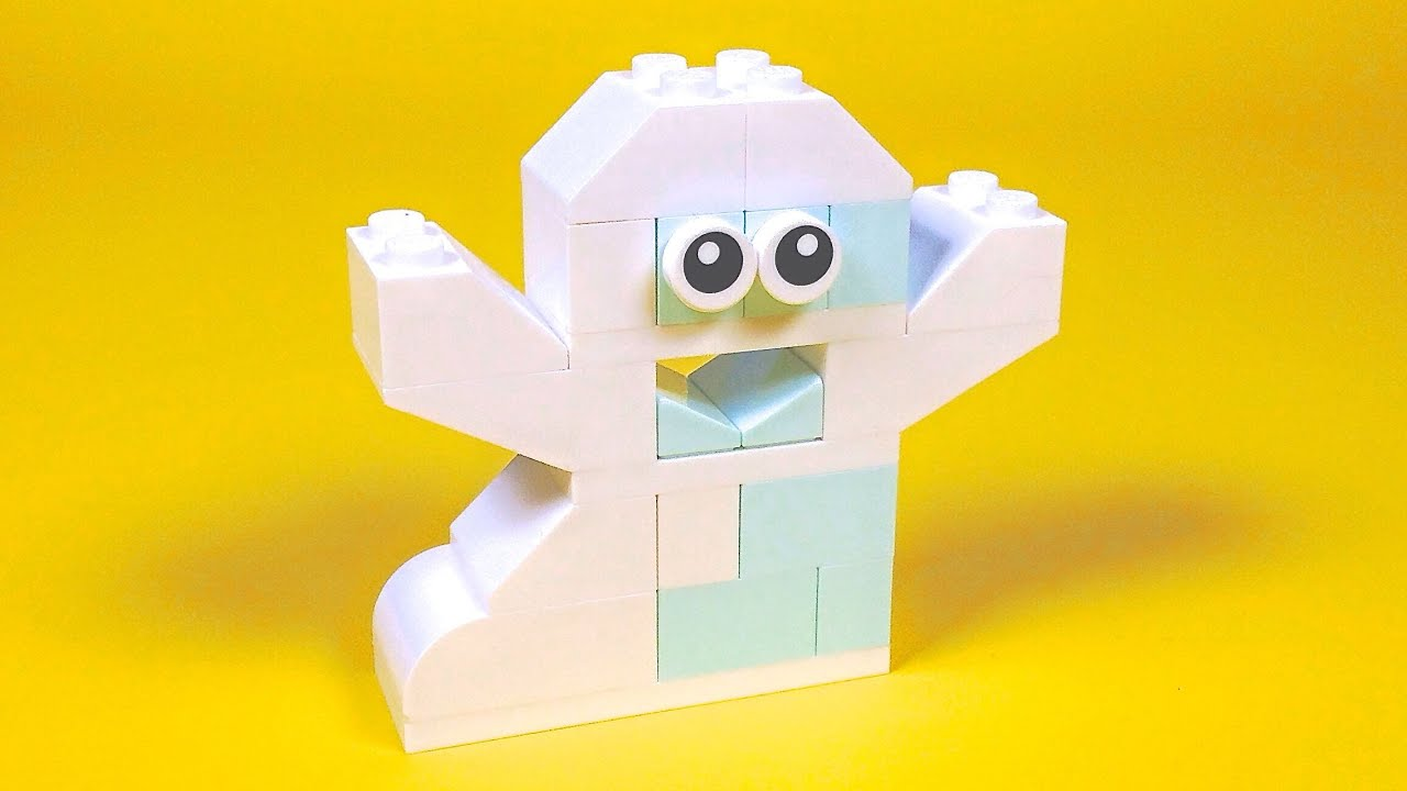Lego Ghost Building Instructions Lego Classic 10696 How To Youtube