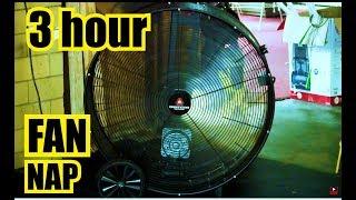 """? INDUSTRIAL FAN SOUNDS ✪ 3 Hour NAP to """"White noise fan"""""""