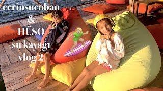 Su Kayağı Vlog Artık Proyum. 🏄🏼♀️ Cable Wakeboard. Ecrin Su Çoban ve HÜSO
