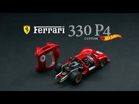 Ferrari 330 P4 Custom Hot Wheels