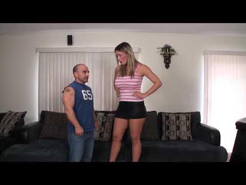 Very Tall Woman with Pal Grow and Grow 00