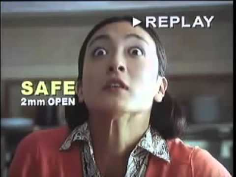 Funny Commercial The Non blinking woman!