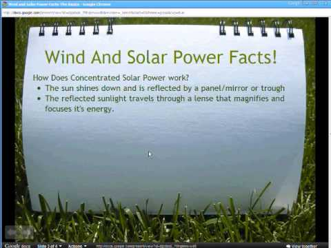 Wind And Solar Power Facts The Basics