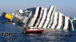 Top 10 Cruises - Top 10 Cruise Ship Disasters