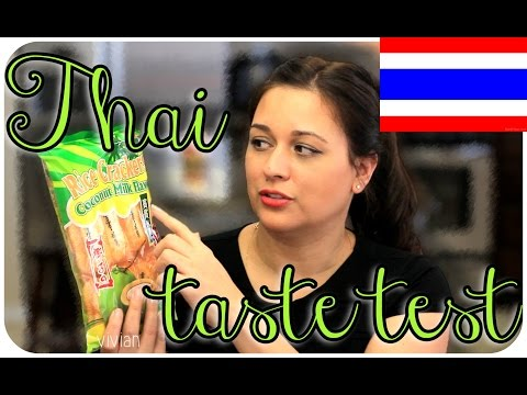 THAI FOOD TASTE TEST  | Secret Life Of Vivian