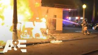 Live Rescue: Biggest Car Fires | A&E