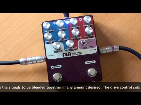 FEA Labs: Dual Band Distortion (1st version) - Strat to Bassman