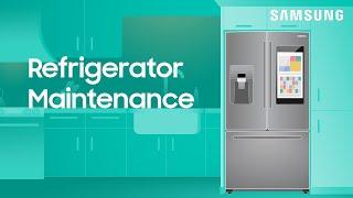 Samsung refrigerator maintenan…