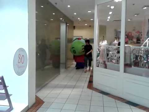 Nature Mascots at Forum Shopping Mall