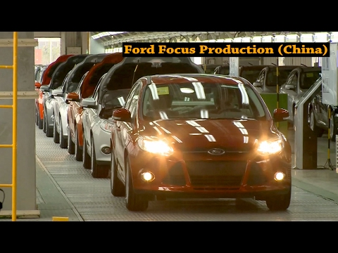 Ford Chongqing manufacturing plant, China (Changan Ford Automobile)