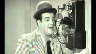 Abbott & Costello - The Payphone Sketch (Alexander 4444)