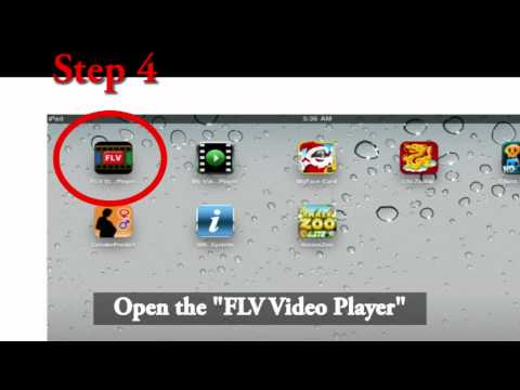 FLV Video Player User Guide for iPad/iPhone/iPod