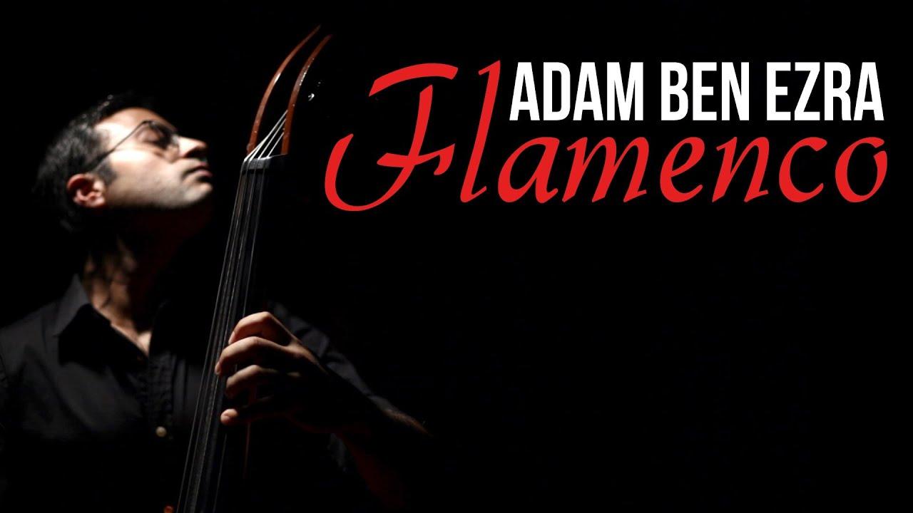 FLAMENCO - Double Bass (+Feet) Solo - Adam Ben Ezra