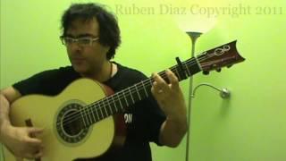 Tangos Alzapua Falseta 4/ Flamenco Guitar Lesson / GFC estudio Malaga Ruben Diaz & CFGstudio