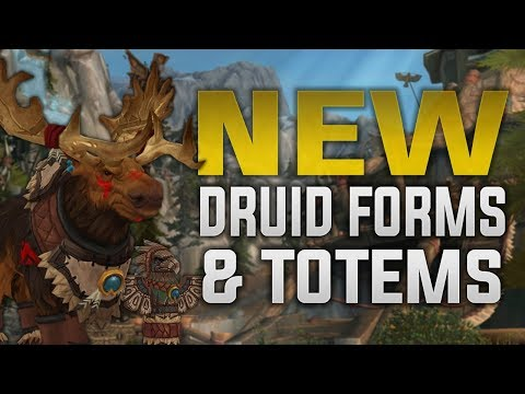 Highmountain Tauren In-game Preview    Heritage Armor, New Druid Forms & Shaman Totems!