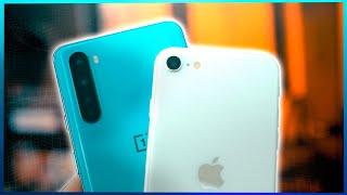 ¡NO DEBERÍA haber TANTA DIFERENCIA! OnePlus Nord VS iPhone SE (2020)