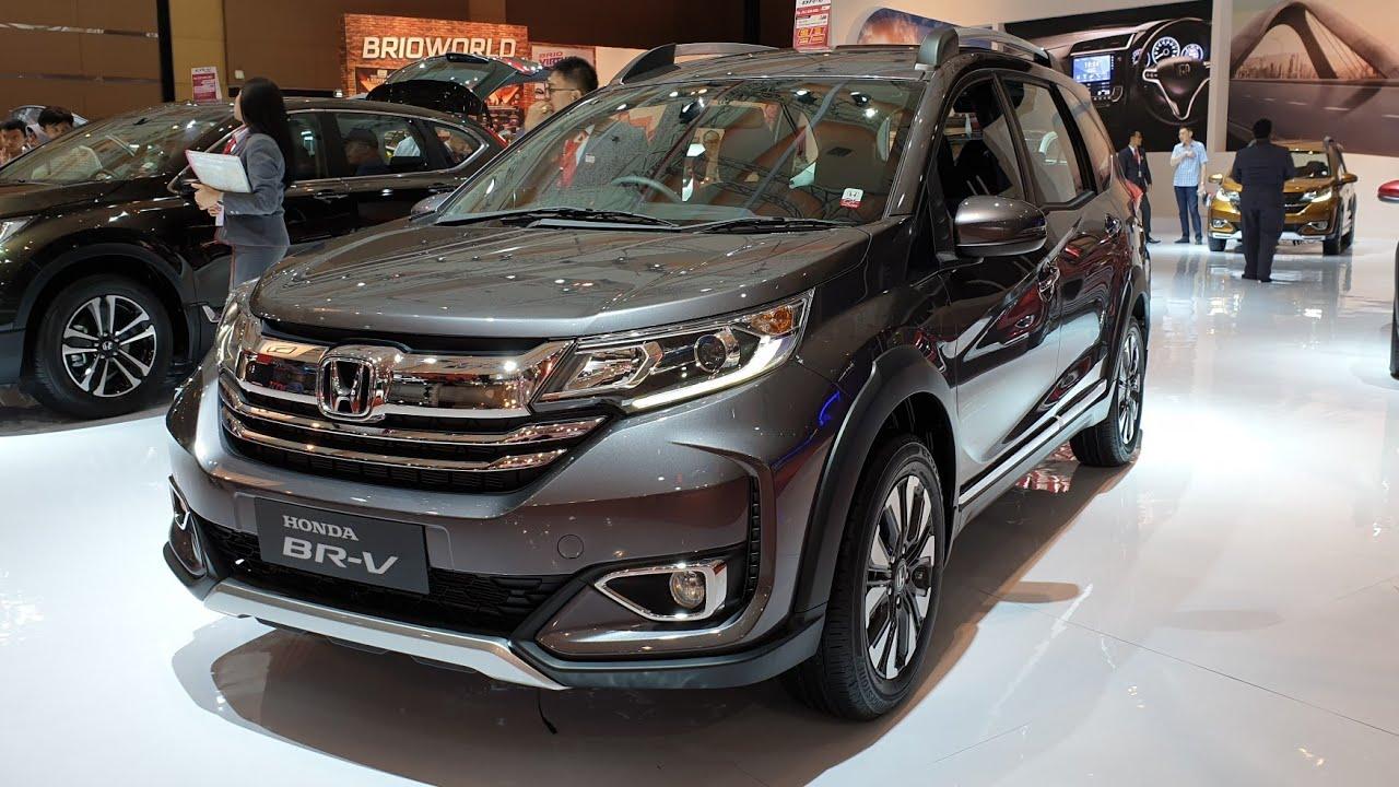 Honda Br V E Cvt Facelift 2019 In Depth Review Indonesia Iims2019
