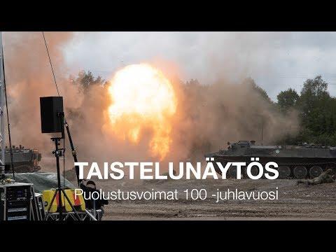 Taistelunäytös - Puolustusvoimat 100 -juhlavuosi