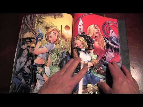 Danger Girl Deluxe Edition Hardcover Comic Review