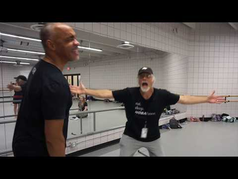 Clumsy reporter takes a ballet lesson at New Orleans Ballet Association