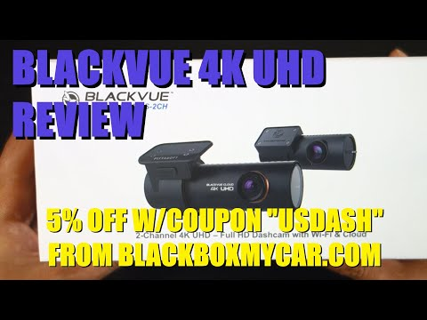 Blackvue DR900S-2CH 4K Review - Unboxing Setup Operation WiFi And Cloud App In-Depth