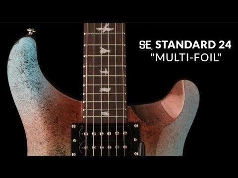 "The SE Standard 24 ""Multi-foil""   PRS Guitars"