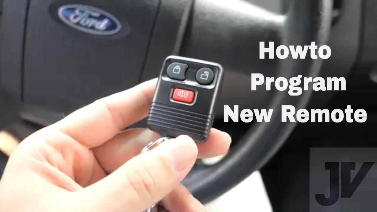 How To Program A Key Fob >> Ford F150 Key Fob Remote Programing