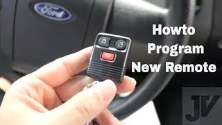 Ford f150 Key Fob - Remote Programing