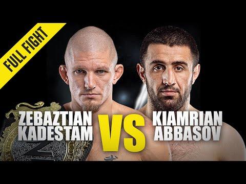 Zebaztian Kadestam vs. Kiamrian Abbasov | ONE Full Fight | October 2019 [5 rounds]