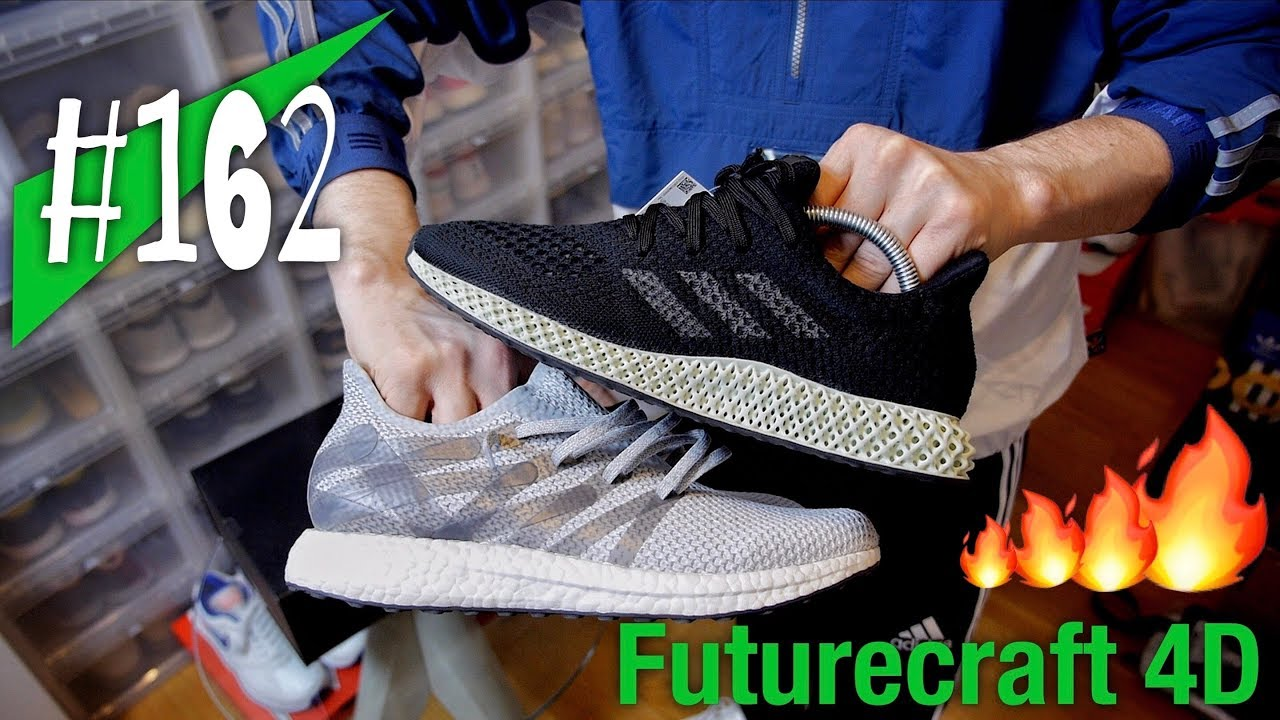 #162 4D besser als BOOST? adidas Futurecraft 4D Reviewon feet sneakerkult