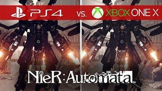 NieR: Automata Comparison - PS4 vs. Xbox One X