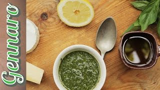 Traditional Basil Pesto | Gennaro Contaldo