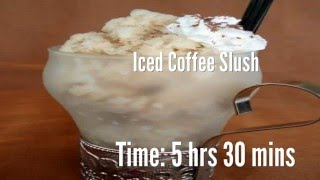 Iced Coffee Slush Recipe