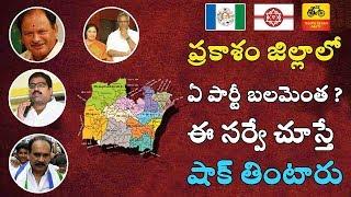 ప్రకాశం జిల్లాలో ఏ పార్టీ బలమెంత ? ఈ సర్వే చూస్తే షాక్ తింటారు | Exclusive Survey Prakasam District