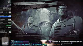 Dishonored 2 - Any% Corvo Speedrun 24:36 PB