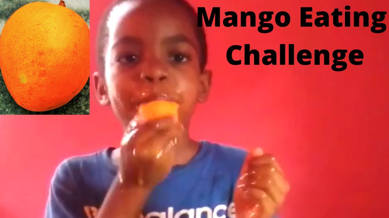 MANGO EATING CHALLENGE IN 5 MINUTES - FUN ACTIVITIES FOR KIDS (PLAYTIME)