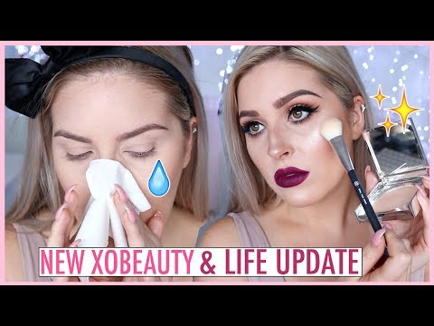NEW xoBeauty Highlighters! ✨💕 CCGRWM & SH!T Life Updates 😥