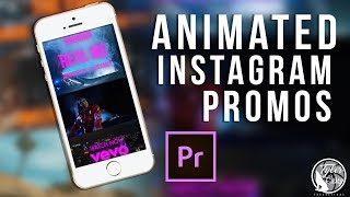 Animated Instagram Music Video Previews -Adobe Premiere CC
