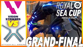 GRAND-FINALS! Vision Strikers vs Attack All Around HIGHLIGHTS - Royal SEA Cup Valorant