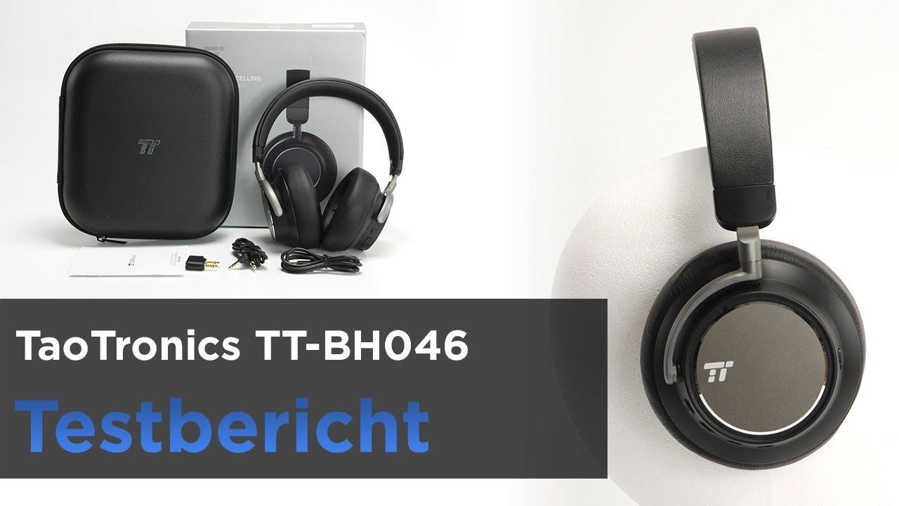 b142fc2a087 TaoTronics TT-BH046 im Test - Bluetooth-Kopfhörer mit ANC und Mega ...