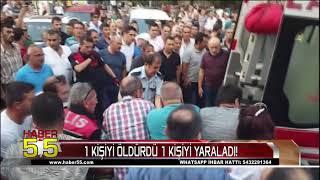 Samsun'da Rizeliler Fırını Önünde Polis, Park Yeri Yüzünden Kavga Etti 1 Ölü 1 Yaralı