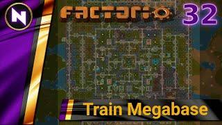 Factorio 018 Train Megabase #32 PRODUCTION SCIENCE UPGRADE