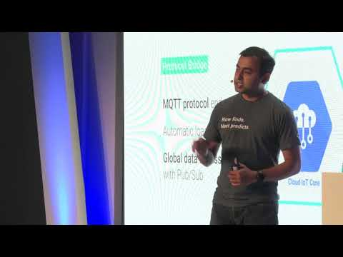 """Google Cloud Next Amsterdam '17- Indranil Chakraborty: """"Building for Entreprise IoT"""""""