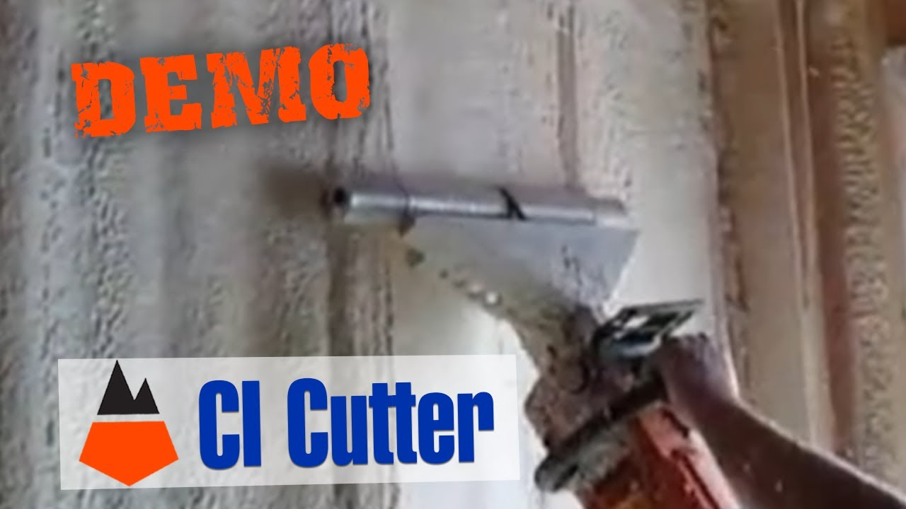 C I Cutter 20 5 Quot Closed Cell Foam Planer Youtube