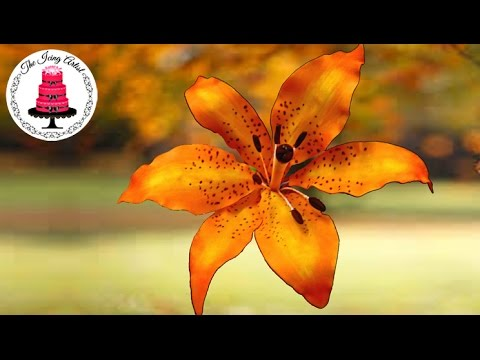 How To Make A Gumpaste Flower Lily  How To With The Icing