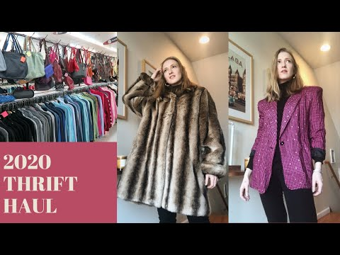 COME THRIFT WITH ME | 50% Off Sale (21 Items For $77) & Huge Try-on Thrift Haul