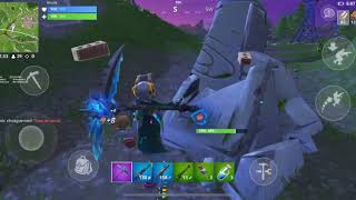 Fortnite mobile on IPhone XS max!